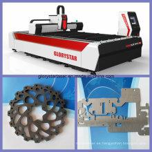 Máquina de corte del laser del metal para el acero del cobre y del cartón (GS-3015)