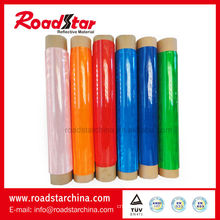 Soft reflective PVC roll for reflector