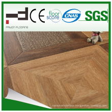 600*600*12mm Embossment Surface Parquet HDF Laminated Flooring