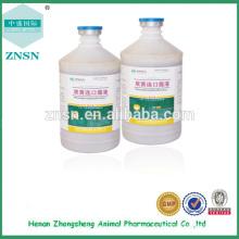 Medicina veterinaria Shuanghuanglian Antiviral Oral líquido