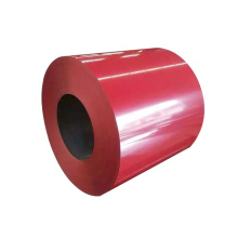 RAL 3000 color coated galvanized steel plate PPGI steel coils from factory