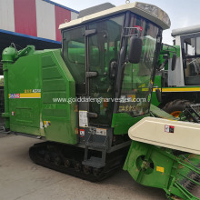 Competitive Price for Rice Combine Harvester crawler rice harvester enhanced gearbox with cab export to India Factories