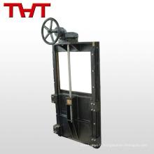 Vanne à guillotine électrique en fonte ductile