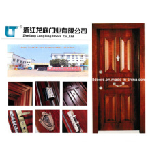 Luxury Turkish Style Steel Wooden Armored Door