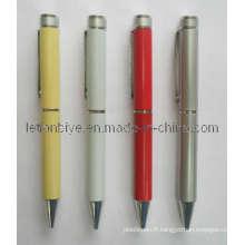Rationalisez le stylo en métal en acier avec le logo de l'entreprise (LT-C155)