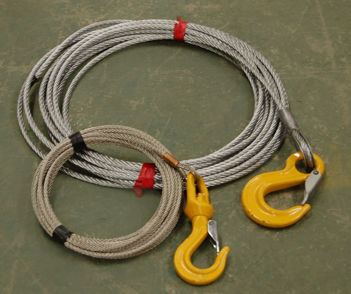 wire rope slings with hook