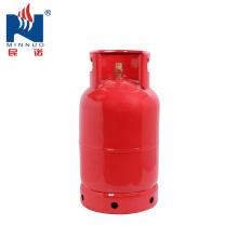 Cilindro de gás vazio do lpg 12.5kg, cilindro de gás de cozimento do agregado familiar