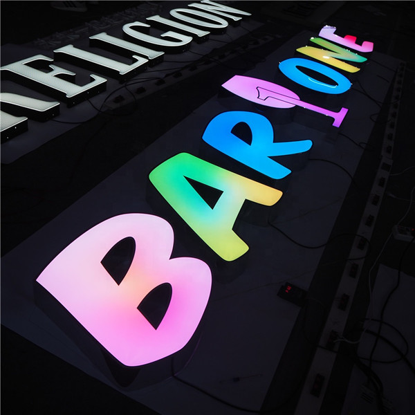 3d Advertising Sign