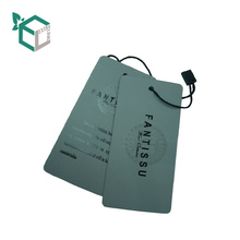 Various design personalized hang tags chain label for paper