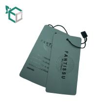 Vários design personalizado tag cadeia pendurar etiquetas para papel