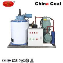 Máquina evaporadora enfriada por aire comercial de la máquina del hielo de la escama de la industria