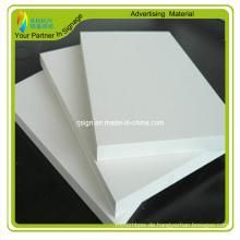 Expanded Display Weiß PVC-Schaum-Brett