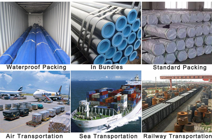 Seamless Carbon Steel Pipe Packing and Transportation