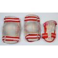 Winter Kids Knee Support Wrist Guard Protector OEM knee pad 6 sets tennis elbow brace