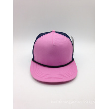 Custom Wholesale Cotton Blank Snapback Cap (ACEK107)