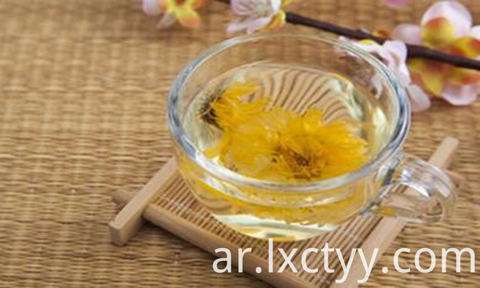 honey chrysanthemum tea slice