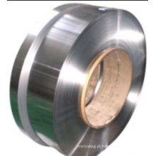 201 Tipo de bobina e SGS Certificação 0,29 milímetros de espessura tira de aço inoxidável