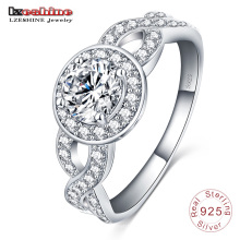 Value 925 Sterling Silver Wedding Ring Designs (SRI0006-B)