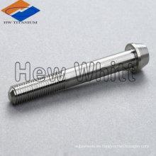 perno de cabeza cónica de titanio DIN934
