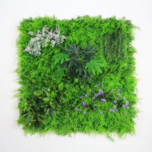 Outdoor cheap DIY customized vertical garden wall with foliage