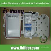 PLC Splitter montado na parede 1x4 / 1x2 IP65