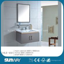 Gabinete de baño de acero inoxidable del espejo de la venta caliente