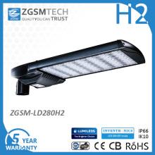 Luz da rua do diodo emissor de luz da fabricação 280W da luz da estrada do diodo emissor de luz de Hangzhou