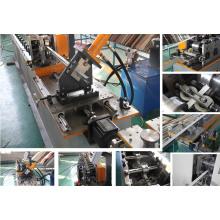 Automatische Stahl T Stangen-Rolle, die Maschine, Haupt-T und Kreuz T für das Verschleiern mit Gips-Brett bildet