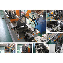 Automatic Steel T Bar Roll Forming Machine, Main T and Cross T For Veiling With Gypsum Board