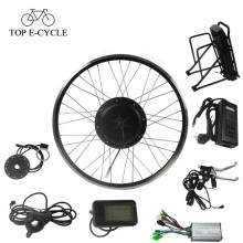kit de motor de bicicleta e-bike kit de conversión de motor de cubo de rueda eléctrica