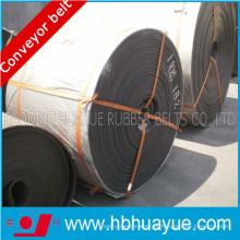 Fogo inteiro do núcleo do PVC / Pvg - correia transportadora retardadora de grande resistência