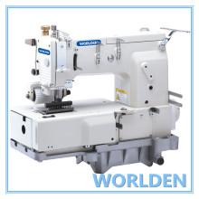 WD - 1412p 12 agujas Flat - cama doble doble cadeneta máquina de coser