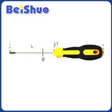 High Quality Slotted Screwdriver with Two Colors