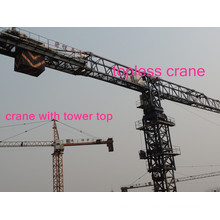 Tower Cranes Hst 5610 in Flat Top Type Made in China by Hsjj