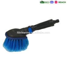 KD/detachable car wheel brush water flow,cheap price high quality and short handle