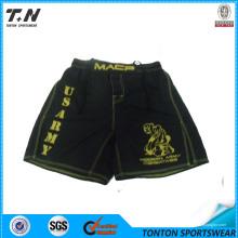 Shorts de luta MMA com bolso lateral esquerdo