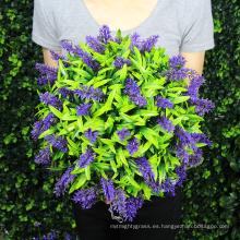 La venta al por mayor anti-uv hace las bolas falsas del boj para los ornamentos del jardín