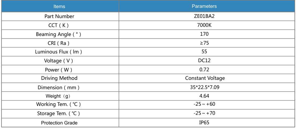 38PCS per string LED module