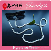 Wholesale Jewelry Fashion Handmade White Pearl Bead Glasses Crod