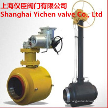 Extended Stem Fully Welded Gas Ball Valve