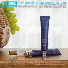 diámetro de 22mm y 25mm buena calidad innovadora tapa diseño color personalizable redondo cosméticos PE tubo suave