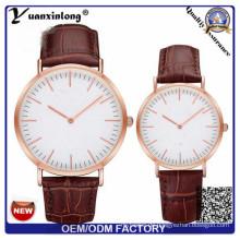 Yxl-660 neue Quarz Uhren hochwertige Marke Uhren Herrenmode & lässiger Luxus Leder Armbanduhr Elegant
