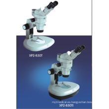 Profesional y amigable con el microscopio estéreo binocular zoom Microscopio / zoom Microscopio estéreo
