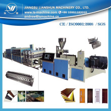 PVC Wide Door Wall Cabinet Board Extrusion Production Line