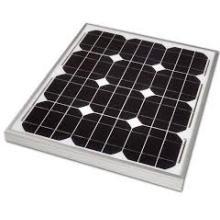 Monocrystalline Solar Panel 30W Quality Model for Residential System Application