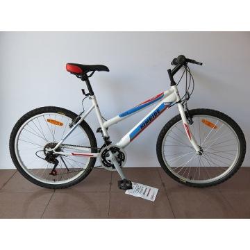 """Bicicleta de montaña con marco de acero de 24 """"(CZ2404)"""