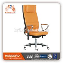 CM-B199AS-2 respaldo alto fabirc giratorio elevación acero inoxidable reposabrazos silla de oficina