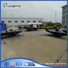 china customized welding boat anchor with weights (USC10-010)