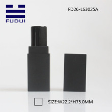 Luxury new square black makeup lipstick tube container