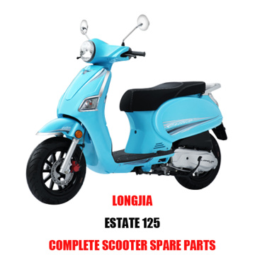 Ricambi originali per scooter LongJia ESTATE 125 qualità originale